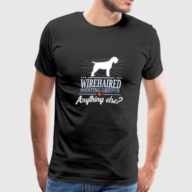Wirehaired Pointing Griffon - Men's Premium T-Shirt