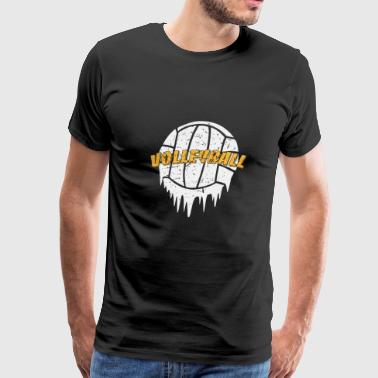 Volleyball Beachvolleyball Sport Beach Summer - Men's Premium T-Shirt