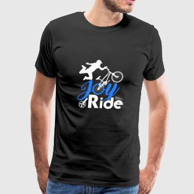 Joyride Bicycle BMX Jump Gift Athlete - Men's Premium T-Shirt