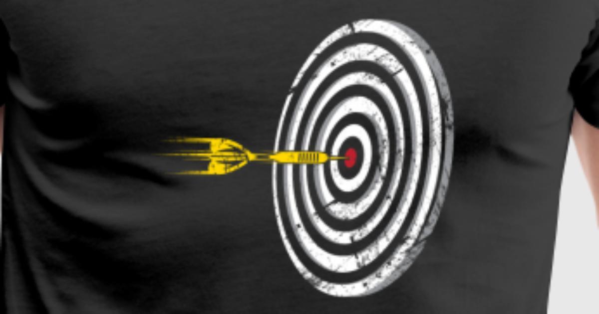 dart sport darts bullseye dartsboard by bestseller shirts spreadshirt