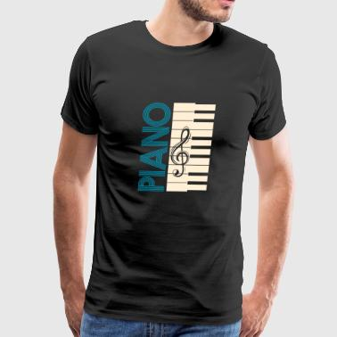 Piano pianist concert classic Band - Men's Premium T-Shirt