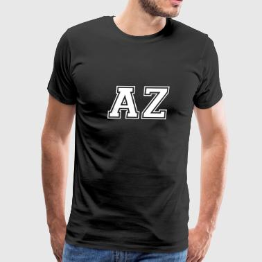 AZ - Arizona - Total Basics - Men's Premium T-Shirt