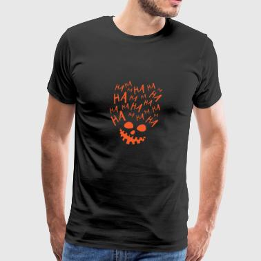 HA HA HA PumpkinShirt - Men's Premium T-Shirt