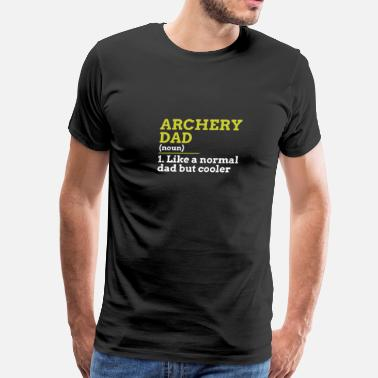 Hoyt Archery Archery Dad - Men's Premium T-Shirt