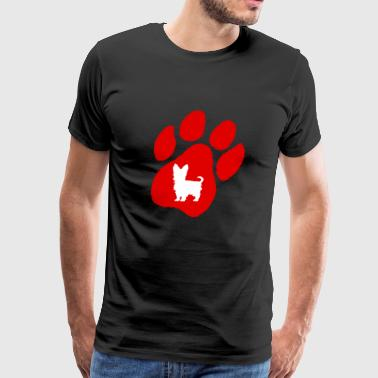 Yorkshire Terrier Graphic T Shirt - Men's Premium T-Shirt