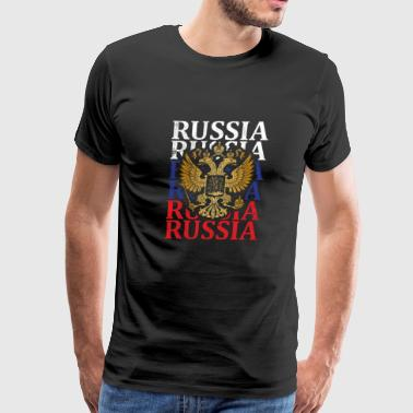 Russian Vodka A26 Russia Compo 02 - Men's Premium T-Shirt