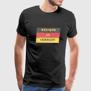 Made In German Welcome To Germany - Men's Premium T-Shirt