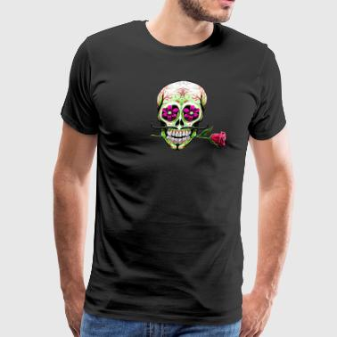 caveira mexicana - Men's Premium T-Shirt
