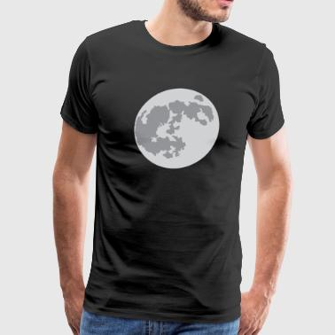 The Moon: a.k.a. where Neil Armstrong landed - Men's Premium T-Shirt