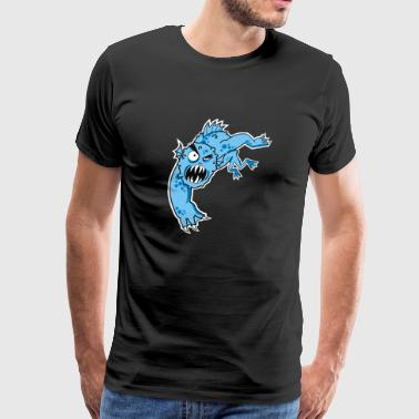 sea monster - Men's Premium T-Shirt