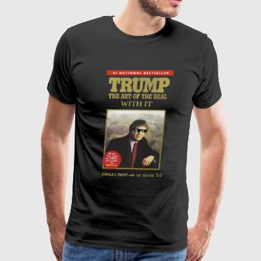Elizabeth Warren Trump With IT - Men's Premium T-Shirt