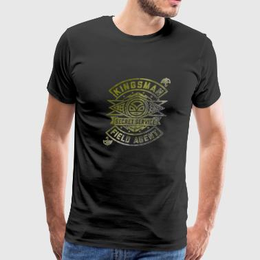 kingsman secret service british comics - Men's Premium T-Shirt