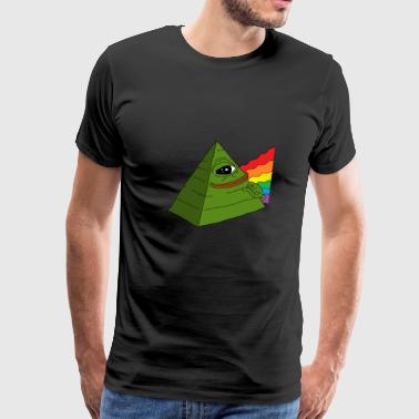 Illuminati pepe - Men's Premium T-Shirt