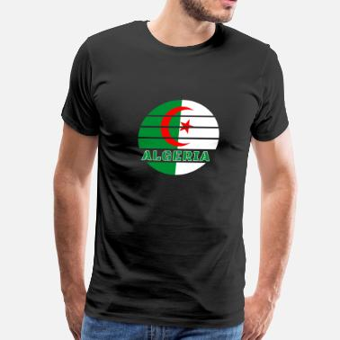 Muslim Algeria district North Africa gift Algiers Arabia - Men's Premium T-Shirt