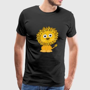 Lion cute for Kids and Baby - Men's Premium T-Shirt