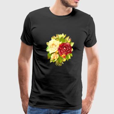 Cute Nice Flora Looks Awesome Perfect Gift Idea - Men's Premium T-Shirt