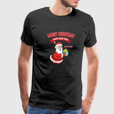 Funny Cool Cute Santa Claus Christmas Xmas Gifts - Men's Premium T-Shirt
