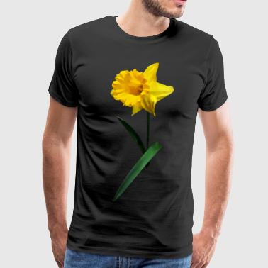 Hi Pass Daffodil Waving Hi - Men's Premium T-Shirt