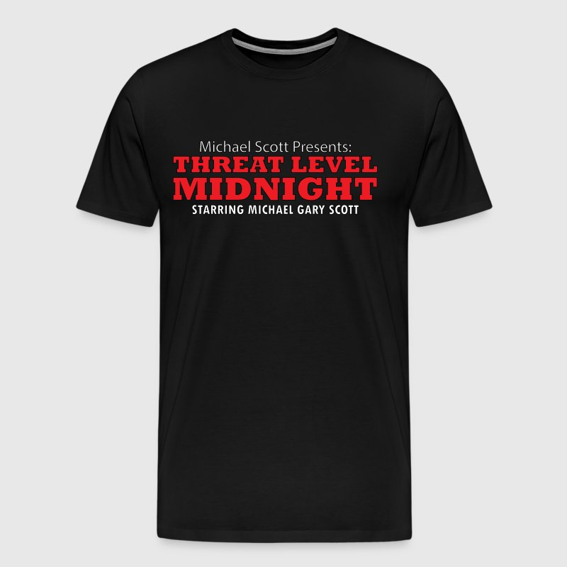 Threat Level Midnight - Men's Premium T-Shirt