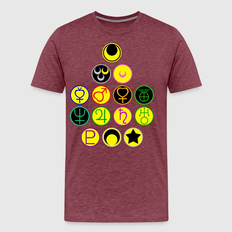 Sailor Scouts And The Moon Symbols By Fansolar Spreadshirt