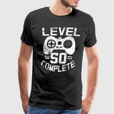 Level 50 Complete Level 50 Complete - Men's Premium T-Shirt