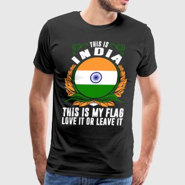 India Love This Is India - Men's Premium T-Shirt
