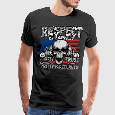 Chopper Biker Bike motorcycle Ride Rider Gift - Men's Premium T-Shirt
