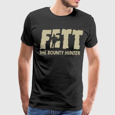Boba Fett Bounty Hunter - Men's Premium T-Shirt