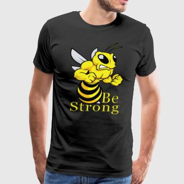 Best Selling Kids Be Strong - Bee Design - Best Selling Design - Men's Premium T-Shirt