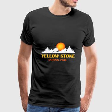 National Parks Yellowstone National Park Camping - Men's Premium T-Shirt