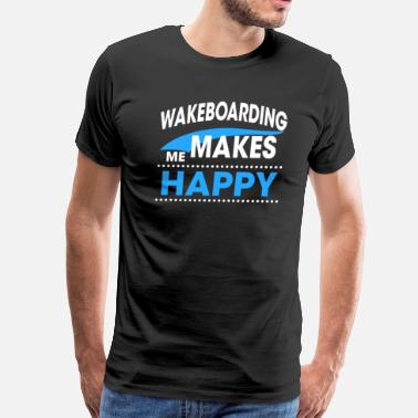 Make Me WAKEBOARDING - Men's Premium T-Shirt