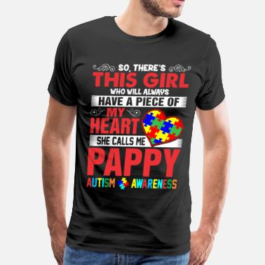 Pappys Girl This Girl Calls Me Pappy - Men's Premium T-Shirt