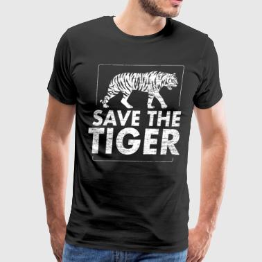 Save the tiger Animal Protection - Men's Premium T-Shirt