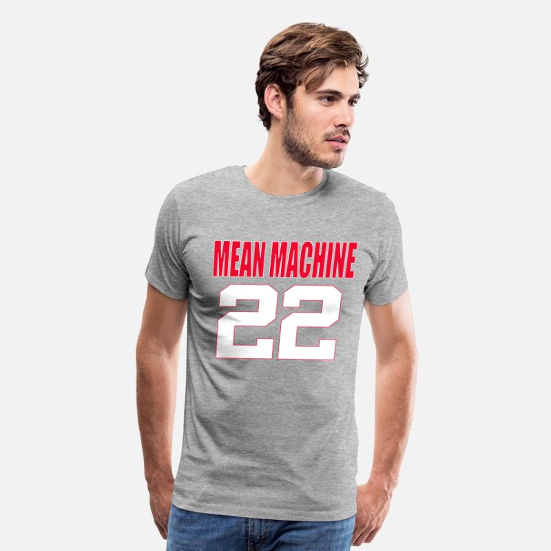 76686fa6b The Longest Yard - Mean Machine 22 Men s Premium T-Shirt