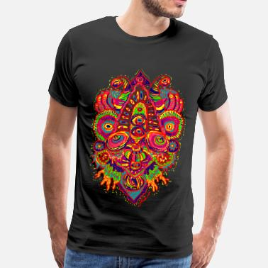 Neon Monster Series: Transcendence - Men's Premium T-Shirt