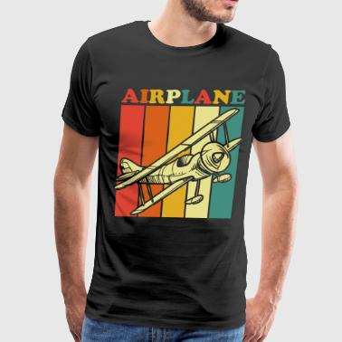 Pilot Airplane - Men's Premium T-Shirt
