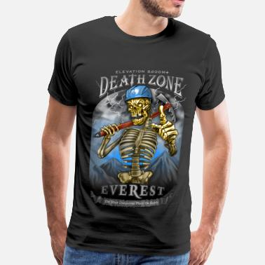 Ice Axe DEATH ZONE: EVEREST - Men's Premium T-Shirt