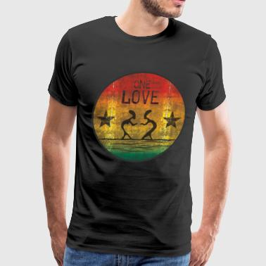 one love reggae - Men's Premium T-Shirt