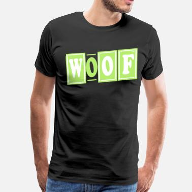 Woof Bears WOOF - Men's Premium T-Shirt
