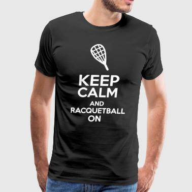 Racquetball - Men's Premium T-Shirt