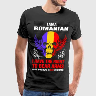 I Am A  Romanian - Men's Premium T-Shirt