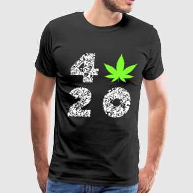 420 Cannabisleaf Hashish Souvenir Gifts - Men's Premium T-Shirt