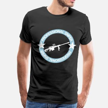 Army Sniper Proffesional Sniper - Men's Premium T-Shirt