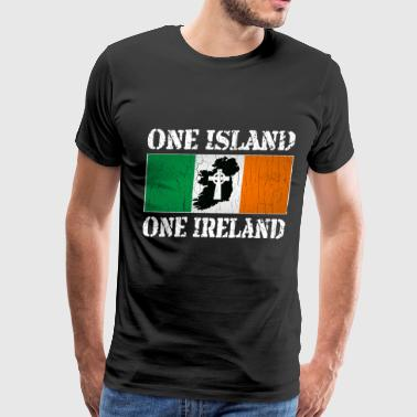 One Ireland One Island, One Ireland - Men's Premium T-Shirt