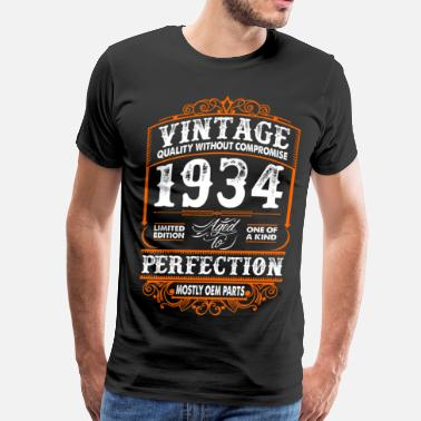 1934 Vintage 1934 Perfection Mostly OEM Parts - Men's Premium T-Shirt