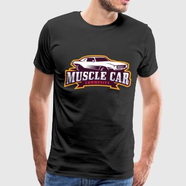 MUSCLE CAR - Men's Premium T-Shirt
