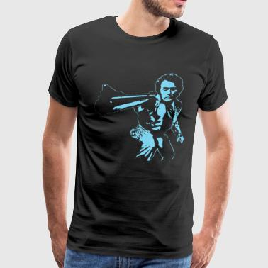 Dirty Harry New Retro Movie 70s 80s Clint Eastwood - Men's Premium T-Shirt