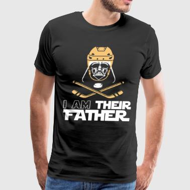 I am their father - Men's Premium T-Shirt