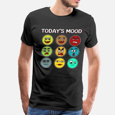 Weaknesses Funny Mood Swing T Shirt Design Today s modd - Men's Premium T-Shirt