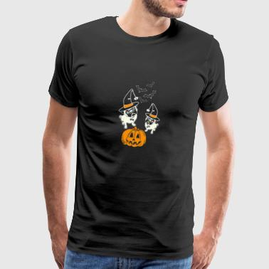 Pug - Pug halloween cute t-shirt for pug lovers - Men's Premium T-Shirt